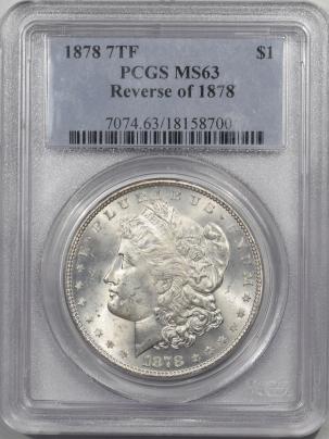 1878-7TF-$1-REV78-PCGS-MS63-700-1