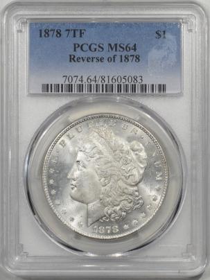 1878-7TF-$1-REV78-PCGS-MS64-083-1