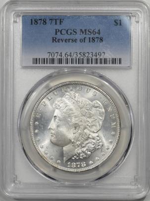 1878-7TF-$1-REV78-PCGS-MS64-497-1