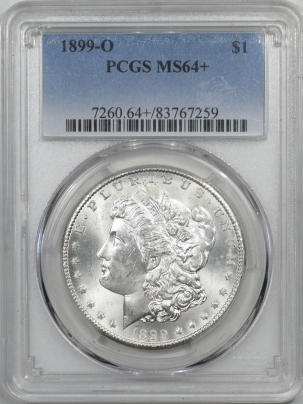 Coin World/Numismatic News Featured Coins 1899-O MORGAN DOLLAR PCGS MS-64+