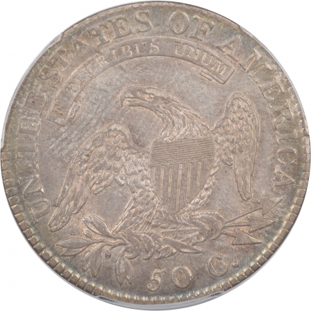 On Sale 1818 CAPPED BUST HALF DOLLAR PCGS AU-50 ORIGINAL & LOVELY!
