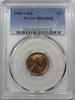 1909-VDB-1C-PCGS-MS64RB-136-1