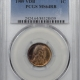 Lincoln Cents (Wheat) 1909 VDB LINCOLN CENT PCGS MS-64 RB
