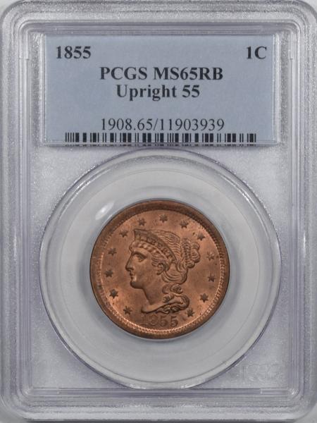 1855-1C-UPRIGHT55-PCGS-MS65RB-939-1