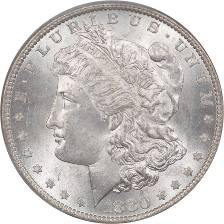 Coin World/Numismatic News Featured Coins 1880-O MORGAN DOLLAR PCGS MS-64