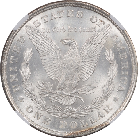 Coin World/Numismatic News Featured Coins 1878 8TF MORGAN DOLLAR NGC MS-64, WHITE W/FULLY PROOFLIKE OBVERSE!