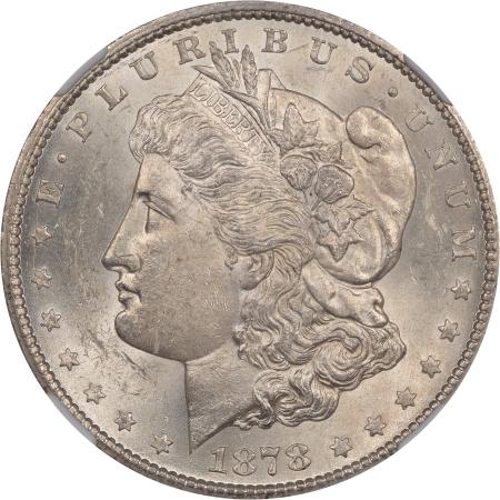 Morgan Dollars 1878-CC MORGAN DOLLAR NGC MS-62
