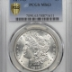 Coin World/Numismatic News Featured Coins 1879-S MORGAN DOLLAR – REVERSE OF 1878 PCGS MS-62 FLASHY! VAM-46