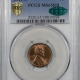 Lincoln Cents (Wheat) 1911-S LINCOLN CENT PCGS MS-65 BN PRISTINE GEM
