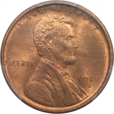 Coin World/Numismatic News Featured Coins 1909-S VDB LINCOLN CENT – PCGS MS-65 RB