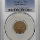 New Certified Coins 1868 INDIAN CENT PCGS AU-50