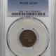 Coin World/Numismatic News Featured Coins 1869 INDIAN CENT PCGS XF-45