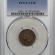 New Certified Coins 1875 INDIAN CENT PCGS AU-50