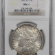 Coin World/Numismatic News Featured Coins 1891-CC MORGAN DOLLAR – VAM-3 SPITTING EAGLE TOP 100 NGC MS-63