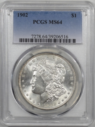Coin World/Numismatic News Featured Coins 1902 MORGAN DOLLAR PCGS MS-64