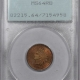 Coin World/Numismatic News Featured Coins 1905 INDIAN CENT PCGS MS-64 RB PQ! OLD GREEN HOLDER!