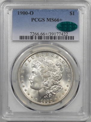CAC Approved Coins 1900-O MORGAN DOLLAR PCGS MS-66+ ORIGINAL WHITE PQ! CAC APPROVED!