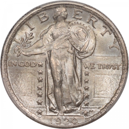 Coin World/Numismatic News Featured Coins 1920 STANDING LIBERTY QUARTER PCGS MS-65 FH ORIGINAL, PQ! CAC APPROVED!