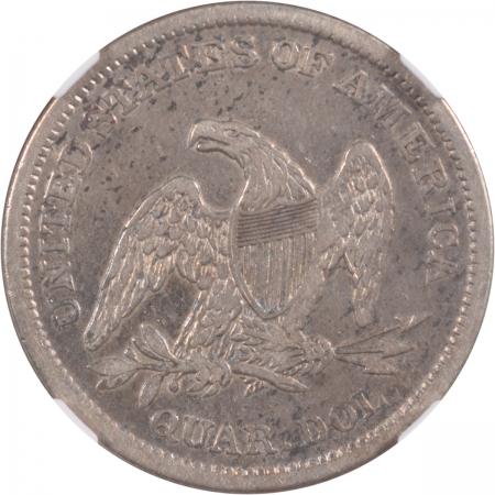 Liberty Seated Quarters 1838 LIBERTY SEATED QUARTER, NGC XF-40, CAC-ORIGINAL & WHOLESOME!