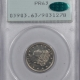 Coin World/Numismatic News Featured Coins 1911 LIBERTY NICKEL, PCGS PR-63, PQ & OLD RATTLER HOLDER!