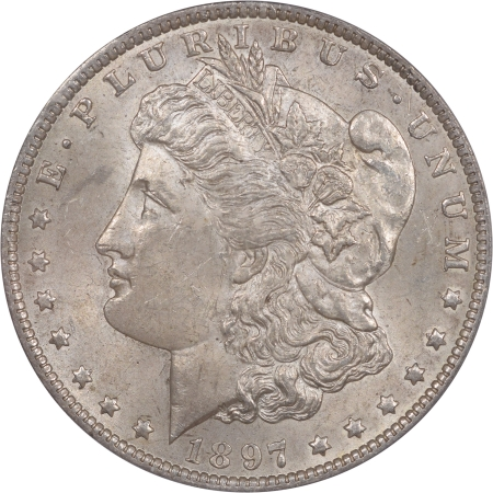 New Certified Coins 1897-O MORGAN DOLLAR PCGS MS-62