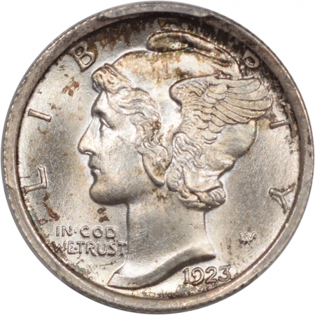 New Certified Coins 1923 MERCURY DIME PCGS MS-67+ FB ORIGINAL AND PQ!