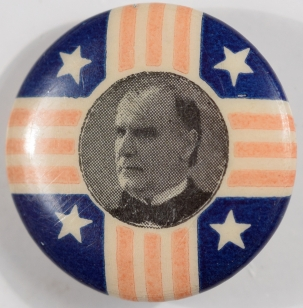 Other Collectibles 1900 MCKINLEY 7/8″ R/W/B PICTURE CELLULOID CAMPAIGN BUTTON NEAR-MINT (Copy)