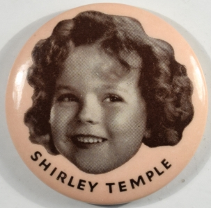 Other Collectibles SHIRLEY TEMPLE 1 3/4″ ROUND ADVERTISING POCKET MIRROR MINT