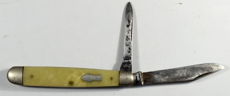 Other Collectibles 1940S POCKETKNIFE – REMINGTON #2105 MW, PYREMITE HANDLE, 3 1/8 INCH VG