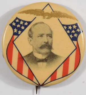 Other Collectibles 1904 ALTON B. PARKER1 1/4″ CELLULOID CAMPAIGN BUTTON IN NEAR MINT