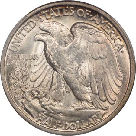 New Certified Coins 1945-S WALKING LIBERTY HALF DOLLAR PCGS MS-66, PRETTY!