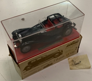 Other Collectibles 1965 SOLIDO #136 BUGATTI ROYALE GOOD INNER  BOX, OUTER BOX PKG & ACC PKT NR-MINT
