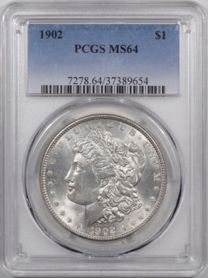 Coin World/Numismatic News Featured Coins 1902 MORGAN DOLLAR PCGS MS-64 PREMIUM QUALITY!