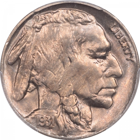 New Certified Coins 1931-S BUFFALO NICKEL PCGS MS-64
