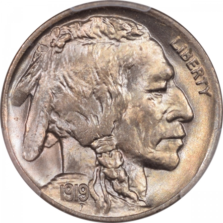 New Certified Coins 1919 BUFFALO NICKEL PCGS MS-66