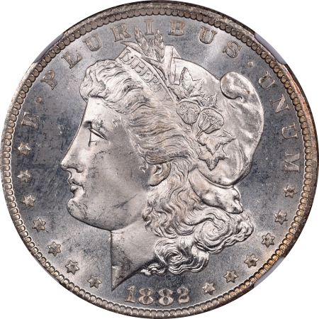 Coin World/Numismatic News Featured Coins 1882-CC MORGAN DOLLAR – NGC MS-66 PL FLASHY, PREMIUM QUALITY!