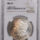 Coin World/Numismatic News Featured Coins 1878-S MORGAN DOLLAR – PCGS MS-66 PRETTY, CAC APPROVED!
