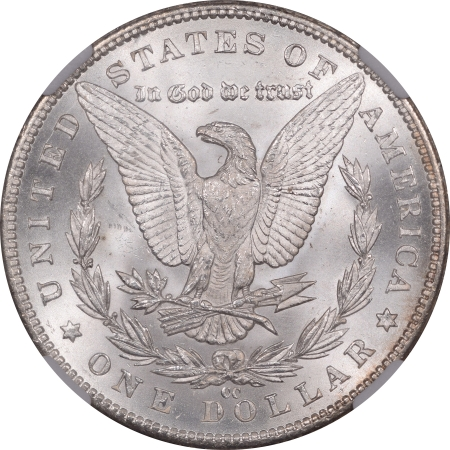 Coin World/Numismatic News Featured Coins 1883-CC MORGAN DOLLAR NGC MS-66+, VERY PRETTY COLOR!