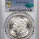 CAC Approved Coins 1881-CC MORGAN DOLLAR PCGS MS-66+ CAC APPROVED, BLACK & WHITE HEADLIGHT!