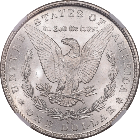 CAC Approved Coins 1884-CC MORGAN DOLLAR – NGC MS-65+ PRETTY COLOR, PREMIUM QUALITY! CAC APPROVED!
