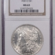 New Certified Coins 1833 CAPPED BUST HALF DOLLAR PCGS AU-55 VERY LUSTROUS LOOKS MINT STATE