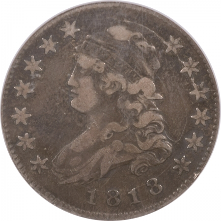 New Certified Coins 1818 CAPPED BUST QUARTER B-2 – NGC VF-30