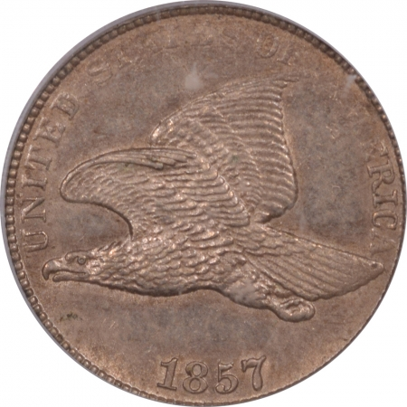 Coin World/Numismatic News Featured Coins 1857 FLYING EAGLE CENT PCGS MS-62