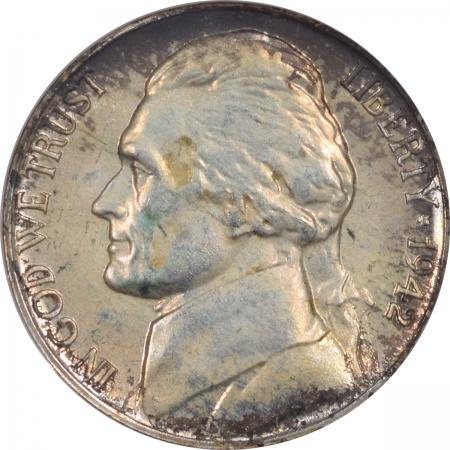 New Certified Coins 1942-P JEFFERSON NICKEL TY II NGC PF-67 FRESH & PREMIUM QUALITY! OLD FATTY!