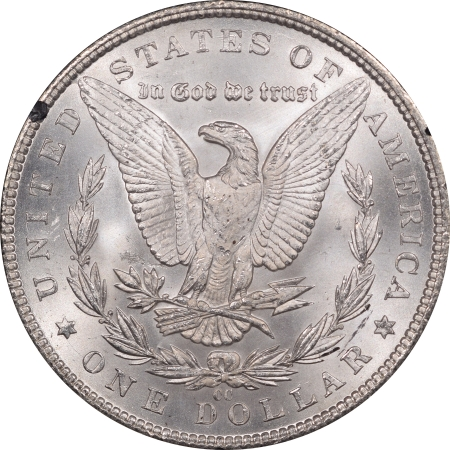 Morgan Dollars 1884-CC MORGAN DOLLAR GSA WITH BOX & CARD – NGC MS-62