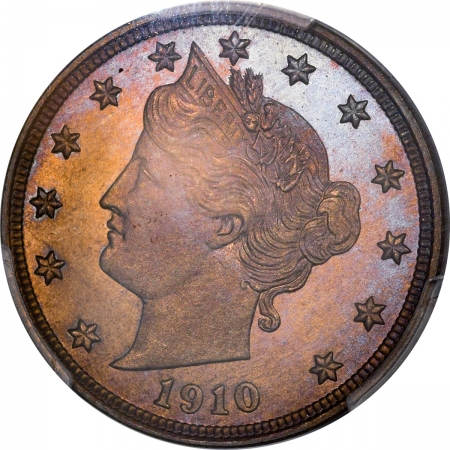Coin World/Numismatic News Featured Coins 1910 PROOF LIBERTY NICKEL PCGS PR-67 CAM GORGEOUS, PRISTINE, PREMIUM QUALITY!