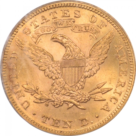 Coin World/Numismatic News Featured Coins 1899 $10 LIBERTY HEAD GOLD – PCGS MS-63