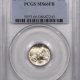 New Certified Coins 1945-D MERCURY DIME – PCGS MS-66 FB PREMIUM QUALITY++ LOOKS MS-67 FB!