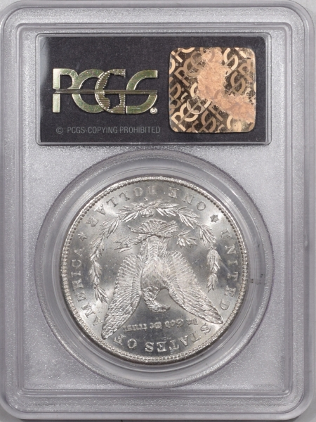 New Certified Coins 1881-S MORGAN DOLLAR – PCGS MS-63 PREMIUM QUALITY, OLD GREEN HOLDER!