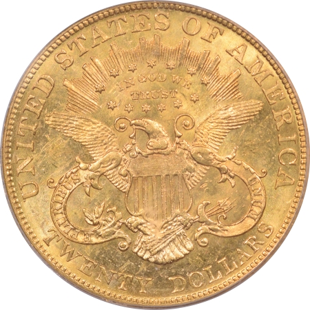 New Certified Coins 1904 $20 LIBERTY HEAD GOLD – PCGS MS-64 PREMIUM QUALITY! FLASHY & SEMI PL